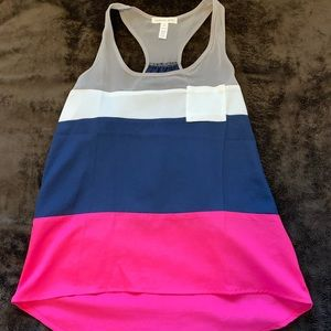 Ambiance Apparel Color block Tank